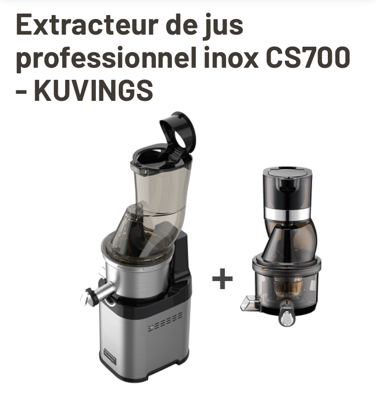 extracteur de jus professionnel Kuvings CS700